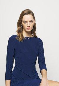 Lauren Ralph Lauren - MID WEIGHT DRESS - Shift dress - twilight royal - 3