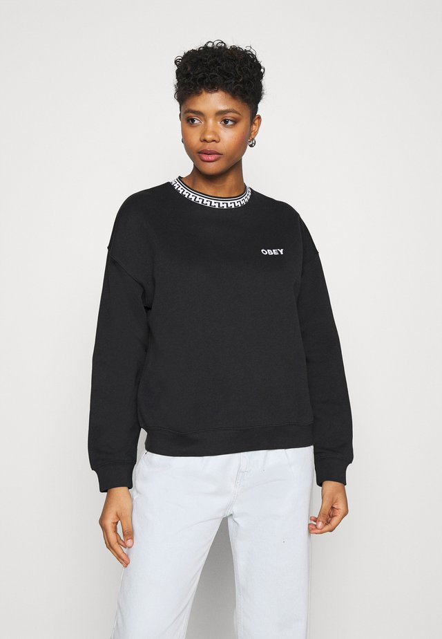 REGINA CREW - Sweater - black