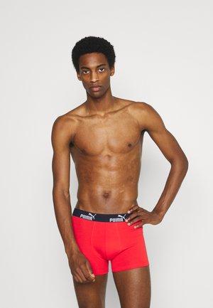 MEN PROMO BOXER 4 PACK - Pants - red/blue