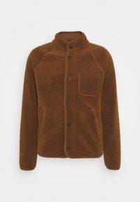 Banana Republic - BUTTON JACKET - Fleece jacket - bronze brown - 4