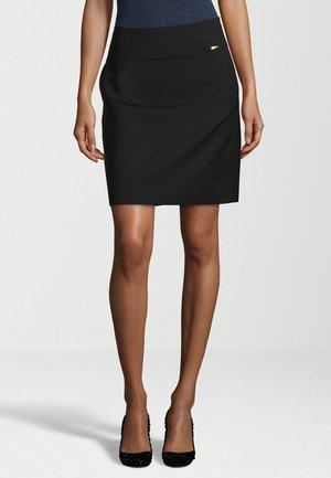 CICLEAN - Pencil skirt - schwarz