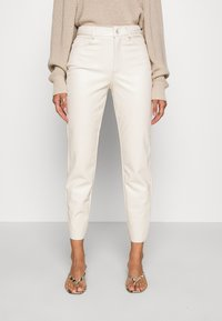 ONLY - ONLEMILY - Trousers - creme - 0