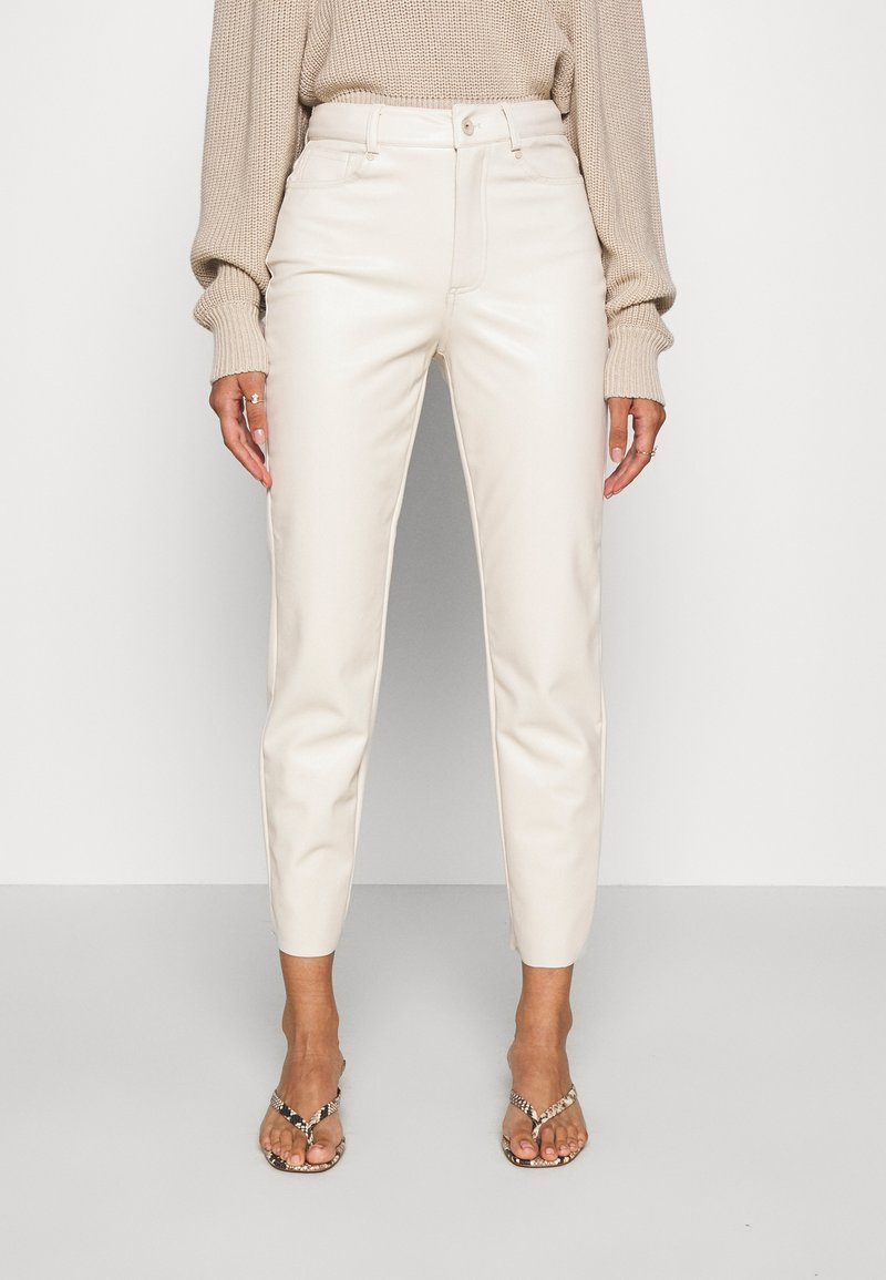 ONLY - ONLEMILY - Trousers - creme