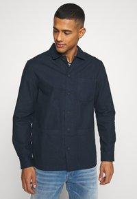 Burton Menswear London - LONG SLEEVE POCKET - Camicia - navy - 3