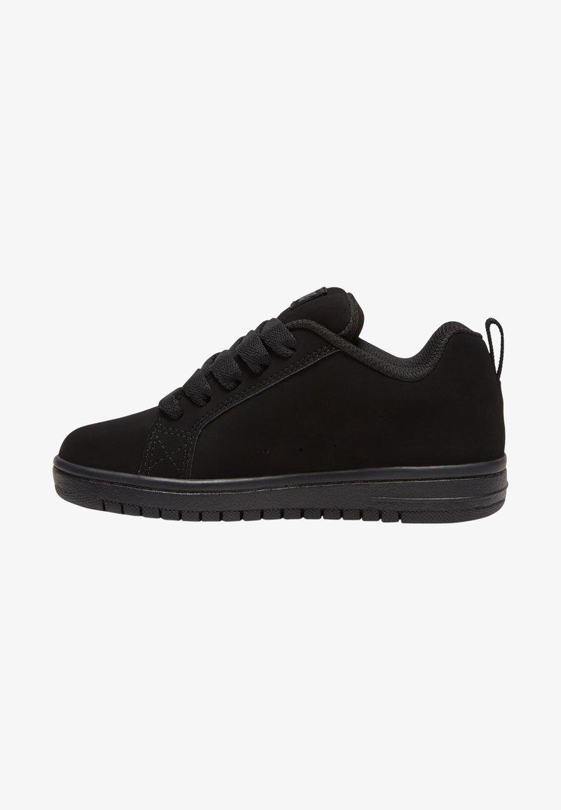 DC Shoes - Trainers - black/black/orange