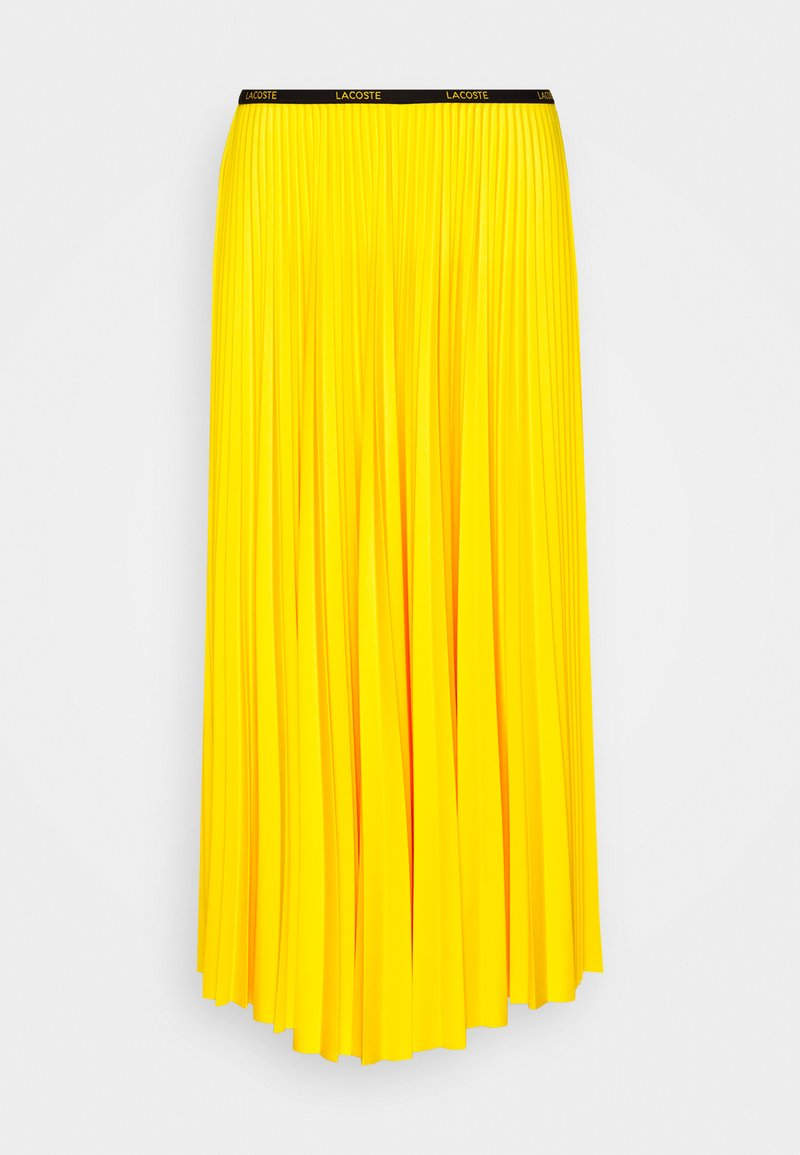 Lacoste - MAXI PLISSEE - Długa spódnica - guepe