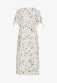 New Look Curves - POPPY FLORAL MIDI - Day dress - green - 1