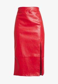 Glamorous - SKIRT - Pencil skirt - red - 4