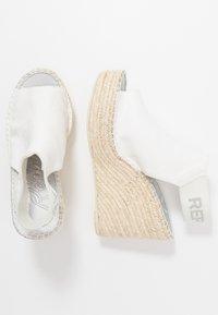 Replay - TYNE - Sandali con tacco - white - 3