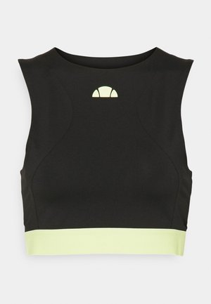 TUTTAN CROP - Top - black