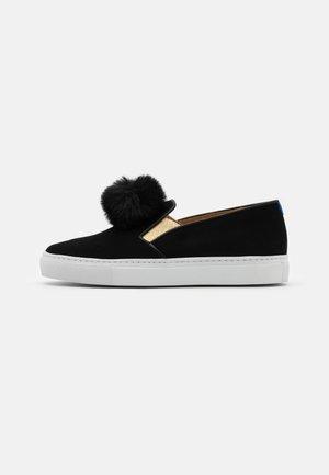 Scarpe senza lacci - black/gold