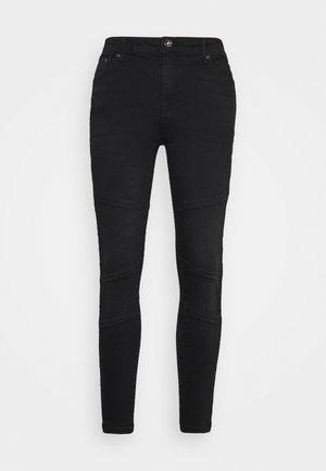 ONLPAOLA LIFE - Jeans Skinny Fit - black denim