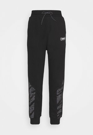 REBEL HIGH WAIST PANTS  - Pantaloni sportivi - puma black untamted