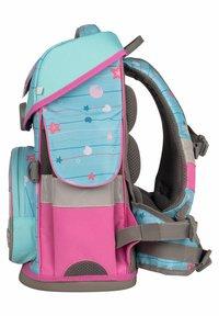 School Mood - SET - Schooltas set - turquoise - 3