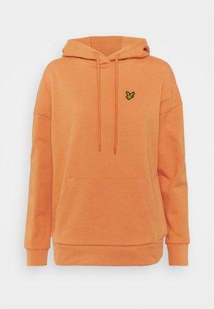 Hoodie - dusk orange