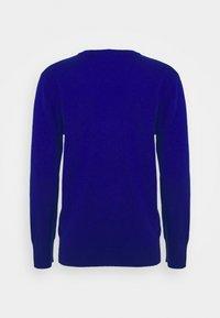 pure cashmere - CLASSIC CREW NECK  - Strikkegenser - royal blue - 1