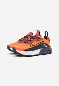 Nike Sportswear - AIR MAX 2090 UNISEX - Sneakers laag - magma orange/black/eggplant/habanero red - 1
