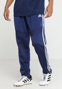 adidas Performance - TIRO - Spodnie treningowe - darkblue/white - 0