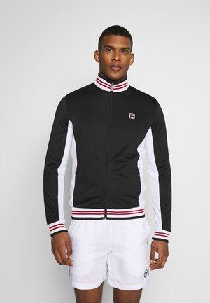 OLE FUNCTIONAL - Sportovní bunda - black/white