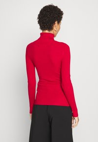 Anna Field - BASIC- RIBBED TURTLE NECK - Maglione - red - 2