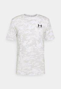 Under Armour - CAMO - T-shirt med print - white/grey - 0
