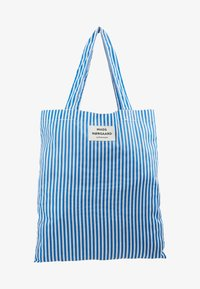 Mads Nørgaard - ATOMA - Tote bag - blue/white - 5