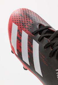 adidas Performance - PREDATOR 20.3 FG - Moulded stud football boots - core black/footwear wihte - 2