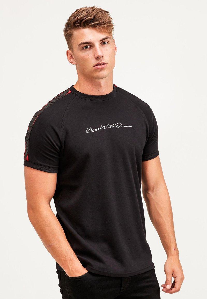 Kings Will Dream - RALLOR - Print T-shirt - black/red