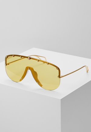 Gafas de sol - gold-coloured/yellow