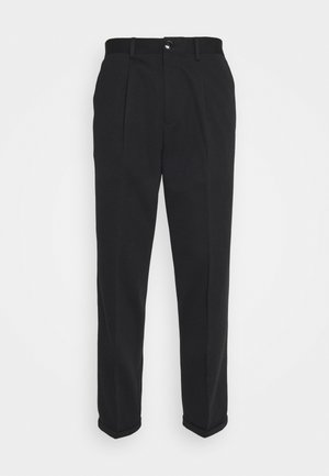 SLHSLIMTAPERED JIM FLEX ANKLE - Trousers - black