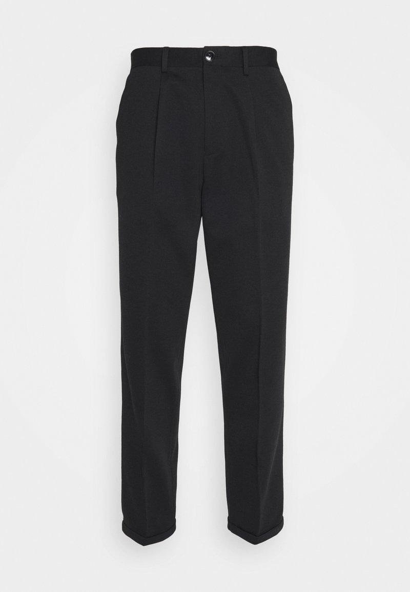 Selected Homme - SLHSLIMTAPERED JIM FLEX ANKLE - Trousers - black