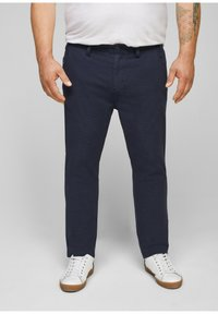 s.Oliver - Trousers - dark blue check - 0