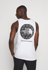 The North Face - GEODOME TANK - Top - white - 0