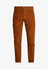 Levi's® - 502™ CARPENTER PANT - Tygbyxor - brown - 3