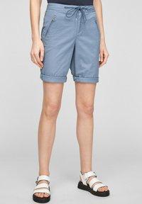 s.Oliver - Shorts - powder blue - 0