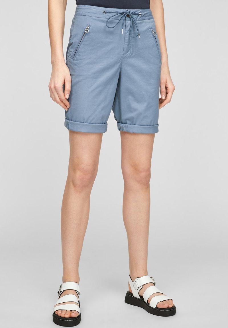 s.Oliver - Shorts - powder blue