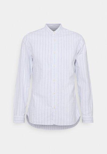 SLHSLIMMILTON STRIPES - Zakelijk overhemd - dark blue