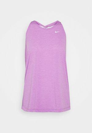 DRY ELASTIKA TANK - Sports shirt - violet shock heather/white