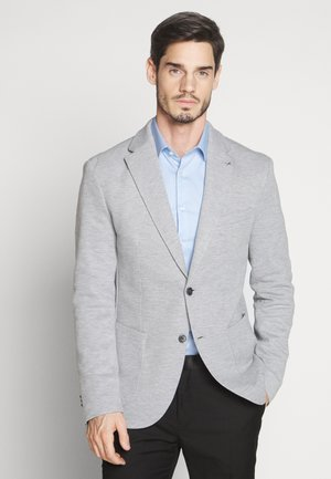 NUPIK - Suit jacket - gris clair