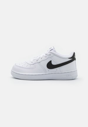FORCE 1 UNISEX - Sneaker low - white/black