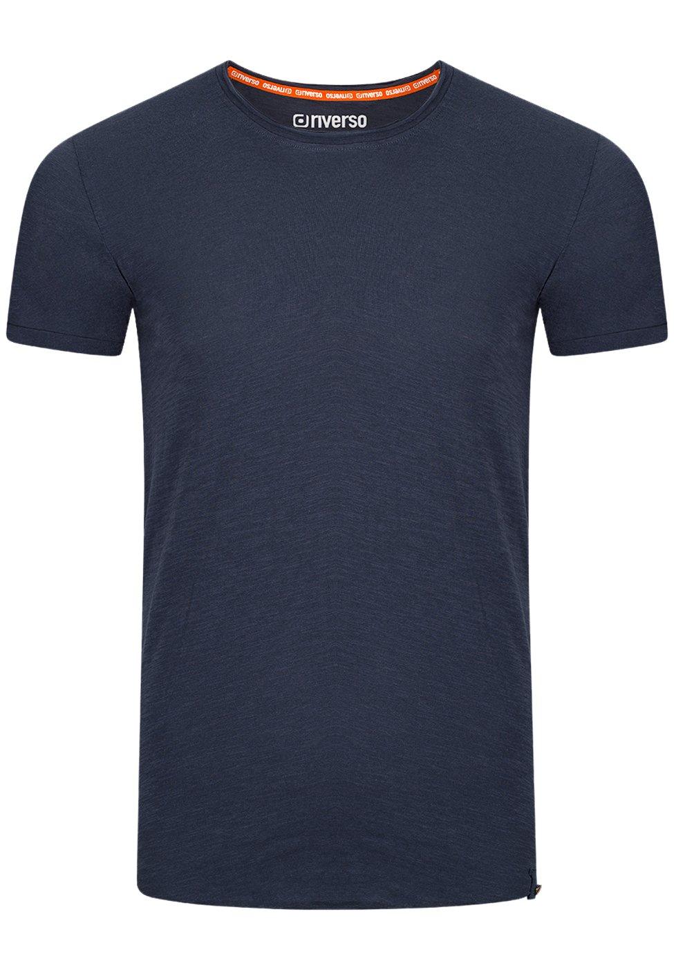 Herren RIVJONAS - T-Shirt basic - dark blue