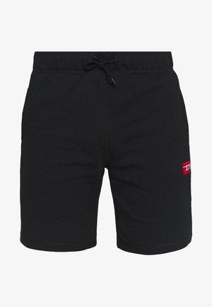 PAN SHORTS - Tracksuit bottoms - black