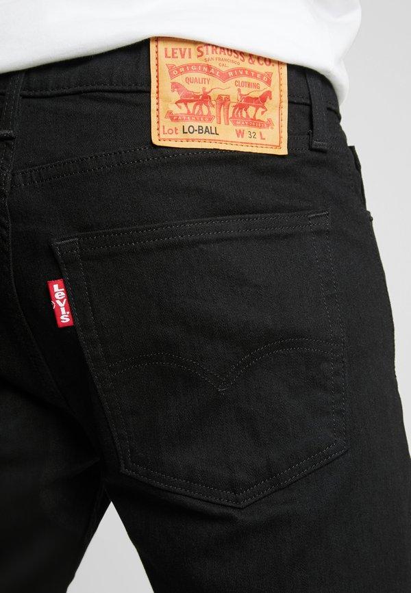 Levi's® 512 SLIM TAPER LO BALL - Jeansy Slim Fit - stylo/czarny denim Odzież Męska EJBX