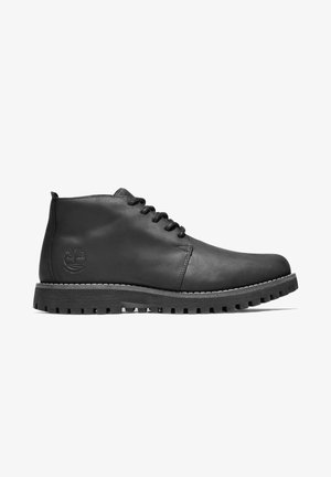 JACKSON'S LANDING - Lace-up ankle boots - black full grain