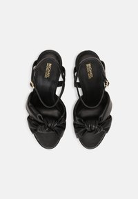 MICHAEL Michael Kors - JOSIE PLATFORM - Sandals - black - 4