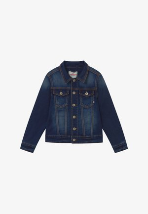FABIO - Džínová bunda - blue vintage