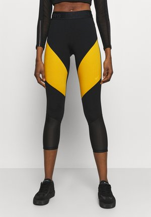 CADENCE BLOCKED - Leggings - citrus