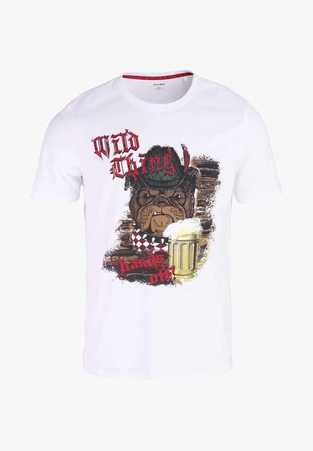 DRUCK - Print T-shirt - weiß
