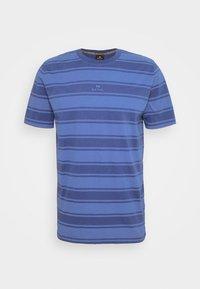 Print T-shirt - bright blue