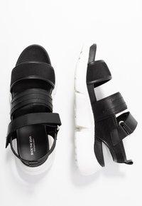 Shoe The Bear - MALA SPORT  - Platform sandals - black - 3